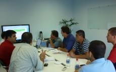 Reunião para firmar convenção coletiva 2010/2012