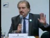 Comissão que analisa a MP dos Portos ouve representantes dos usuários do sistema portuário em Brasília.