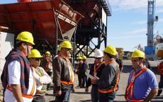 Visita Comissão da NR 29 Segurança no porto