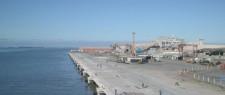 Assinado contrato para obras de moderniza��o de 1.125 metros de cais do Porto Novo