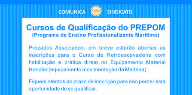 Cursos de Qualifica��o do PREPOM